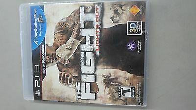The Fight Lights out ps3 (New Factory Sealed)