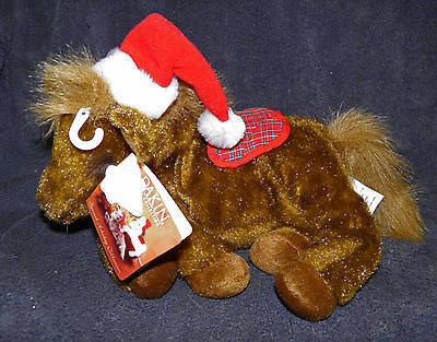 "Dakin FLOPPY CHRISTMAS HORSE 15"" Plush Stuffed Animal Home Collection CUTE"