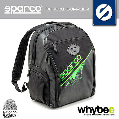 016432NR SPARCO BLACK STARS TRAVEL BAG BACKPACK RUCKSACK 40x34x20cm NEW MODEL!