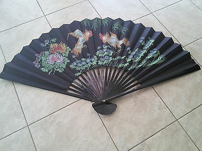 Pictorial Decorative Chinese Wall Fan
