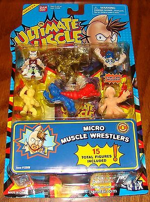 Ultimate Muscle Micro Wrestlers Series 8 Kinnikuman Bandai New! 15 figures