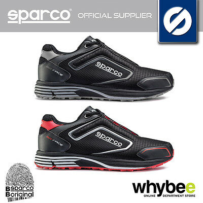 001216 Sparco Mx-Race Lightweight Pit Crew Trainers (Mechanic Shoes)  Size 39-48