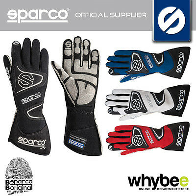 001355 Sparco Tide Rg-9 Racing Gloves Rg9 Pre-Shaped High Grip Fireproof Fia Sfi