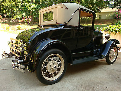 Ford : Model A 2 door sport coupe 1929 ford model a sport coupe