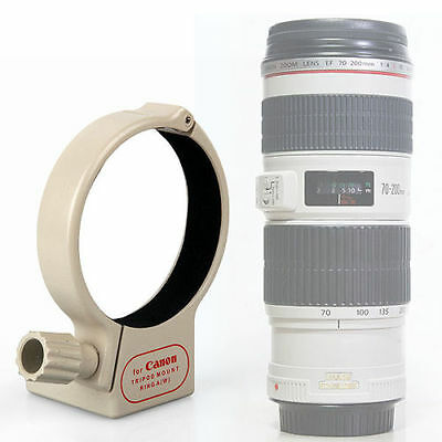 Tripod Collar Mount Ring A(W) for Canon EF 70-200mm f/4L IS USM Lens Hot