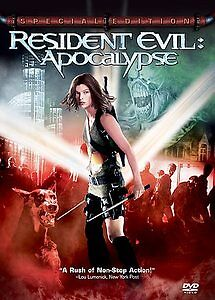 Resident Evil: Apocalypse (DVD, 2004, 2-Disc Set, Special Ed.  USED   FREE SHIP