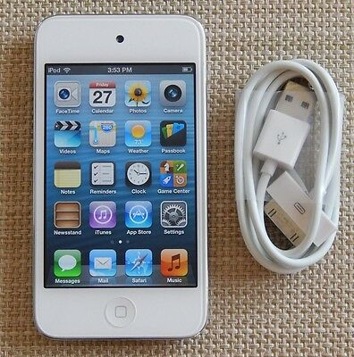 Apple iPod touch 4th Generation White White (16 GB) Great Cond. 100% Working