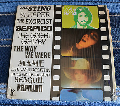 """Great Movie Themes! / The Sting, Serpico & Others /1974 Pick Wick Records 12"""" LP"""