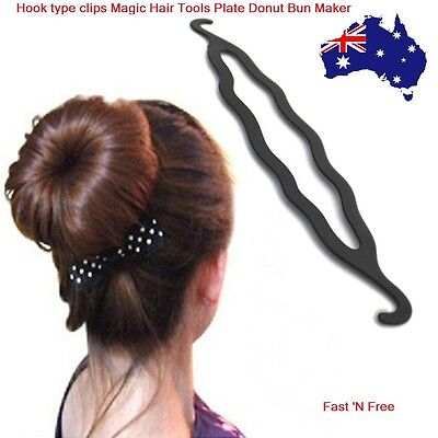 Magic Beauty Twist Hair Bun Styling Tools Maker Braid Clip Accessories Stick