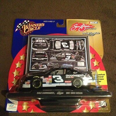 2001 1/43 #3 Dale Earnhardt Sr OREO SAM BASS COLLECTION Action Version WC