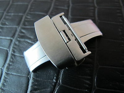 22mm Stainless Steel Pusher Watch Deployment buckle replacement parts