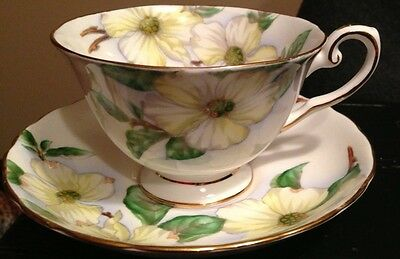 Tuscan Fine English Bone China Dogwood C9790 Cup & Saucer Set