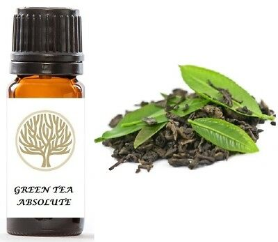 Therapeutic Grade 100% Pure Green Tea Absolute Oil