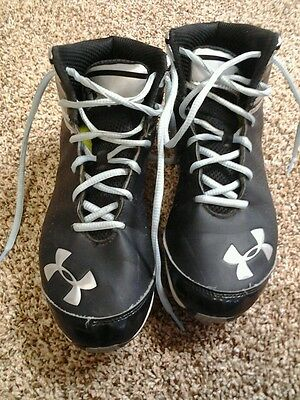 BUY IT NOW $25!! *Black Mens Under Armour Cleats. ¤SPRING/SUMMER SPORTS¤
