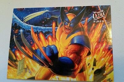 1994 Fleer Ultra X-men Foil Card Wolverine #5