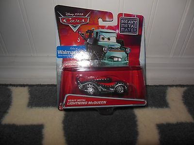 "2015 Disney Pixar Cars Diecast ""Heavy Metal Lightning McQueen"""