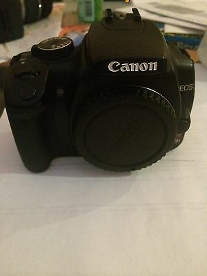 Canon EOS Digital Rebel XTi / 400D 10.1 MP Digital SLR Camera - Black (Body...