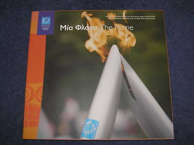 The Flame - Official Com Book ATHENS 2004 Olympic Games