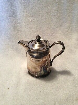 Vintage Reed&Barton Silver Soldered 2800 2 P 50 Creamer Teapot Pitcher 6 Inch