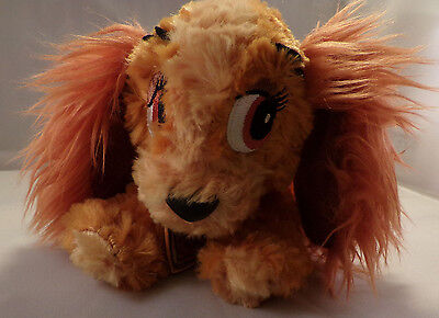 """Disney Parks Lady and the Tramp 9"""" Lady Dog Plush Doll"""