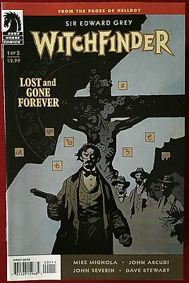 Witchfinder: Lost & Gone Forever (2011) #1 - Comic - Mike Mignola - DH Comics