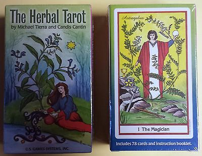 The Herbal Tarot~NEW~78 Card Deck +Guidebook~Tierra and Cantin