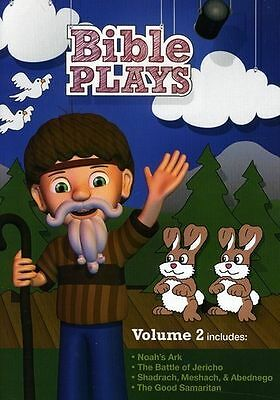 Bible Plays, Vol. 2 (DVD, 2011) Bible Stories For Kids NEW (S19M)