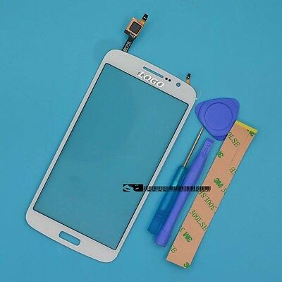 For Samsung Galaxy Grand 2 G7102 G7105 G7106 white Touch Screen Digitizer Glass
