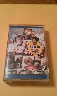 THE FOUR PREPS Three Golden Groups In One Vintage Rare Cassette RSPC 220 Tape