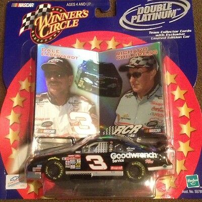 2001 1/43 Winners Circle Dale Earnhardt Sr GM Goodwrench #3 Double Platinum Car