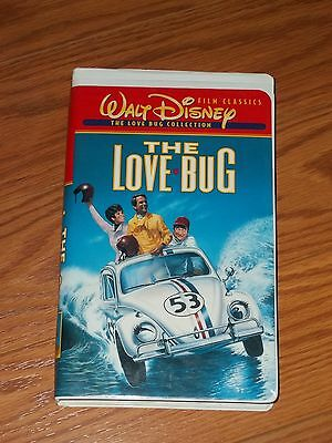 Walt Disney The Love Bug VHS Video Herbie Dean Jones Michelle Lee Buddy Hackett