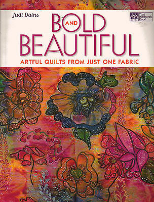 Bold & Beautiful Artistic Quilts Color-Splashed Creations Quilting Pattern Book