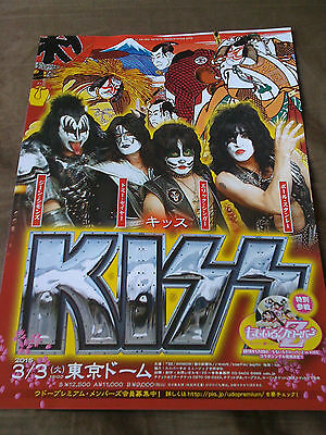 KISS / 2015 TOUR flyer / JAPAN pt.2