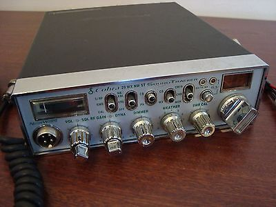 Cobra 29 WX NW ST Sound Tracker CB Radio with Mic and Power Supply Cord