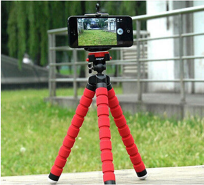 Mini Flexible Octopus Tripod Bracket Holder Stand for iPhone cellphone Camera