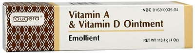 Fougera Vitamin A & D Ointment 4oz Tube -Expiration Date 10-2019-