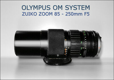 OLYMPUS OM ZUIKO 85 - 250mm F5 F 5 MC AUTO - ZOOM