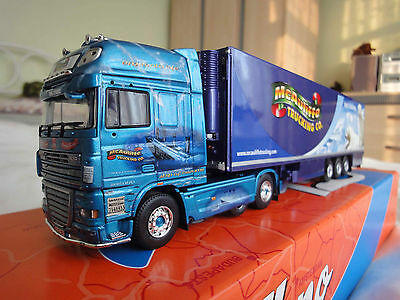 TEKNO DAF XF MCAULIFFE TRUCKING IRISH COLLECTION 1:50 DIECAST LORRY