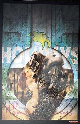 Luis Royo Prints Millennium III Holiday in the Southern Beaches