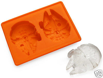 Silicone Ice Cube Tray Millennium Falcon Mould cast cake making crafts star wars