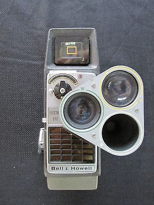 Bell and Howell Electric Eye 3 lens Movie Camera Vintage antique