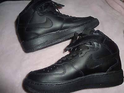 Air Force-1 NIKE all black Brand New Size 6 youth NWOB