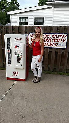 Coca Cola Coke Machine Cavalier 72 Professional Restoration Vendo 81 56 44 39 80