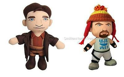 """FIREFLY SERENITY Official 8"""" MAL REYNOLDS & JAYNE COBB with Hat PLUSH Set of 2"""