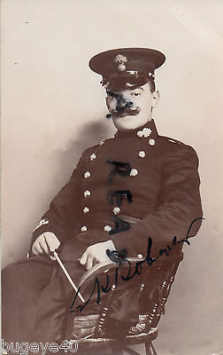 soldier Bandmaster Royal Fusiliers named 1907 Ramsgate