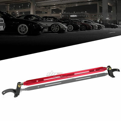 FOR 97-01 PRELUDE BB6 40MM ALUMINUM RED FRONT UPPER TIE STRUT TOWER BRACE BAR