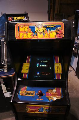 Ms. Pacman Cabaret Arcade Machine by Bally Midway