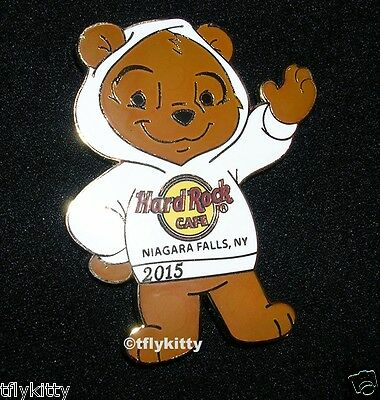 Hard Rock Cafe NIAGARA FALLS NY BEAR CORE PIN 2015 LE300