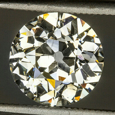2.44ct ANTIQUE LARGE OLD EUROPEAN CUT LOOSE DIAMOND ENGAGEMENT VINTAGE 2.5 CARAT