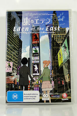 Eden of the East Movie 1 - The King of Eden + Air Comm - Region4 DVD - BRAND NEW